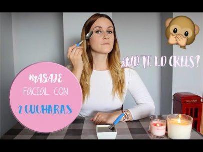 Como hacer masaje facial con cucharas ¡adiós a las arrugas!