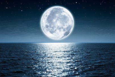 ¡Las cicatrices de la Luna…!