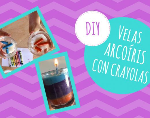 ¡Haz tus propias velas con crayolas!