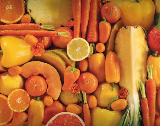 ¿Por qué comer alimentos color naranja?
