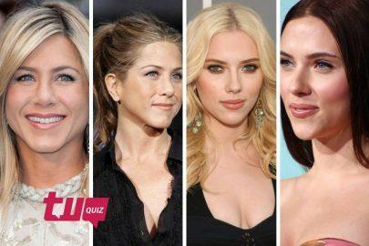 ¡Reconoce el cabello de las celebridades!