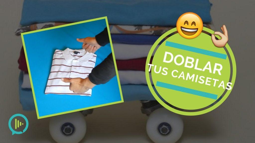 3 formas ingeniosas de doblar r pidamente tus camisetas - Tabla doblar camisetas ...