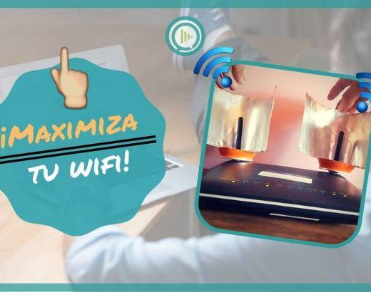 ¡Maximiza la señal de tu WiFi!