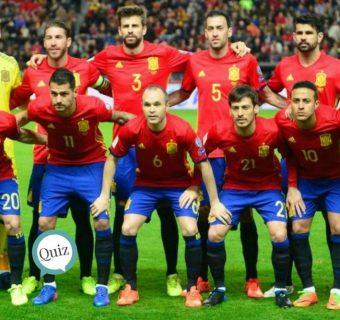 ¿Conoces a la Selección Española de Fútbol?