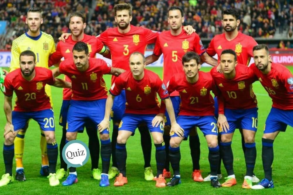 679e4951e7a7d Prueba tus conocimientos sobre la Selección Española de Fútbol en este  quiz… ¡Vamos