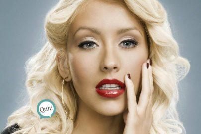 ¿Crees que conoces a Christina Aguilera?