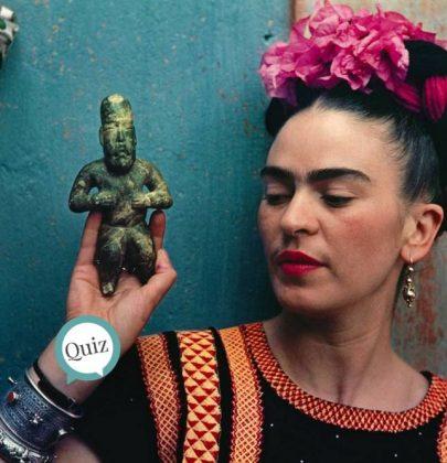 ¿Cuánto conoces de Frida Kahlo? ¡Demuéstralo!