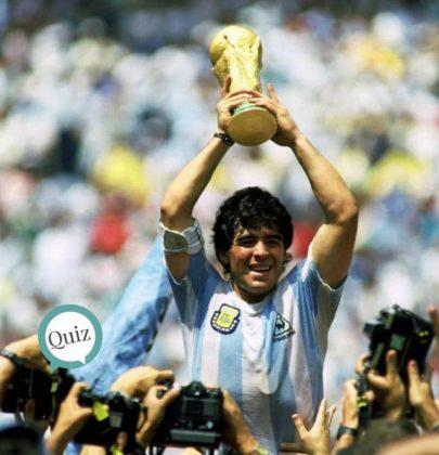 ¿Cuánto conoces de Maradona? ¡Muéstralo!
