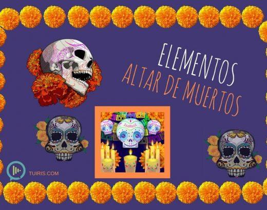 Altar de muertos… ¡elementos y su significado!