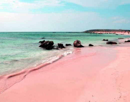 Playas rosa… ¡A que no conoces estas 3 bellezas!