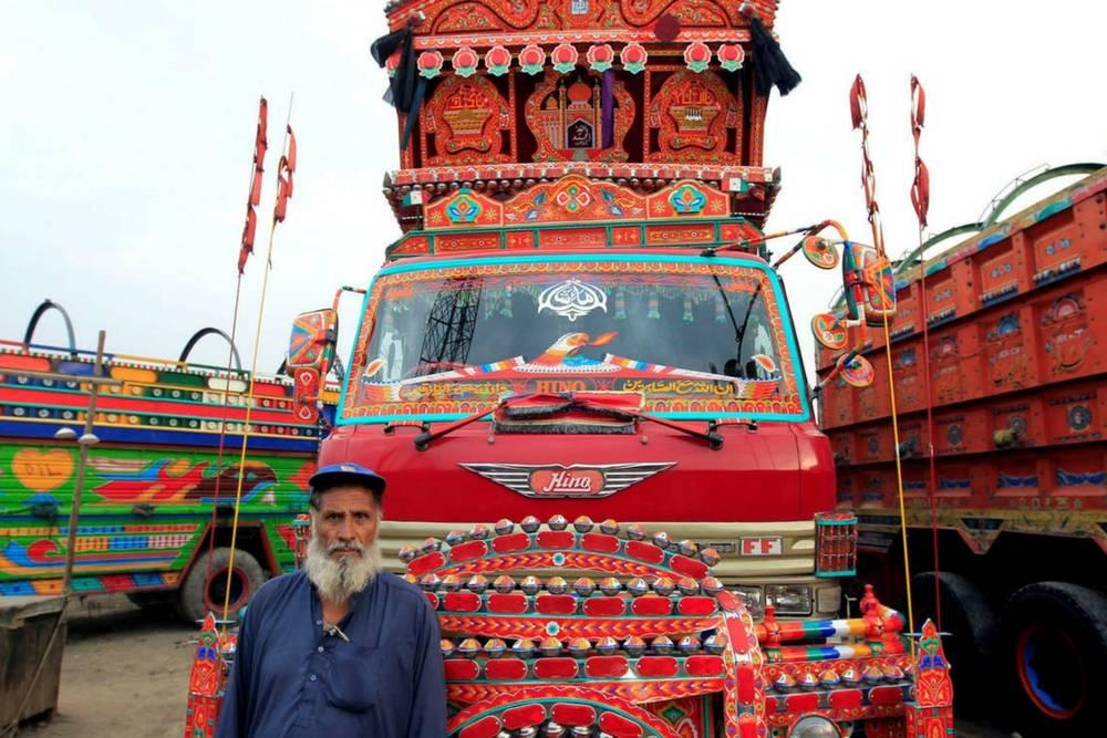 camiones en Pakistán
