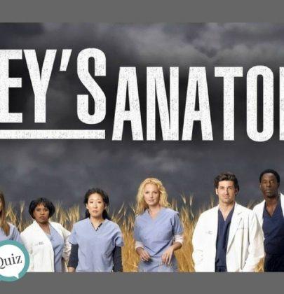 ¿Qué tanto recuerdas de Grey's Anatomy?