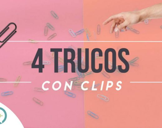 ¡4 ingeniosos trucos con clips!
