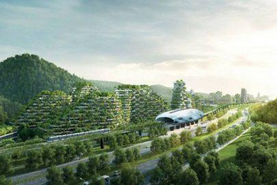 ¡La primera Ciudad Bosque del mundo!