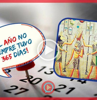 ¡El año no siempre tuvo 365 días!