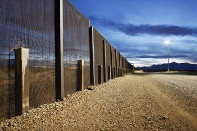 ¿Cómo es el muro en el sur de EE.UU.?