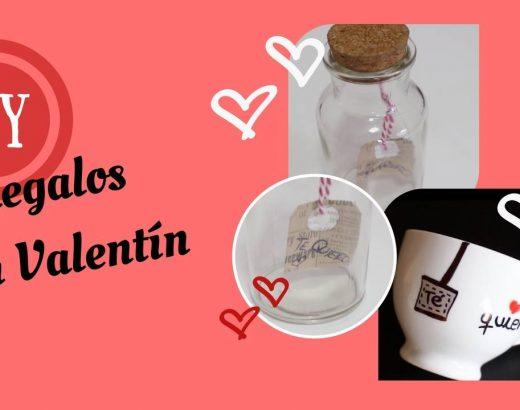 ¡Regalos DIY para San Valentín!
