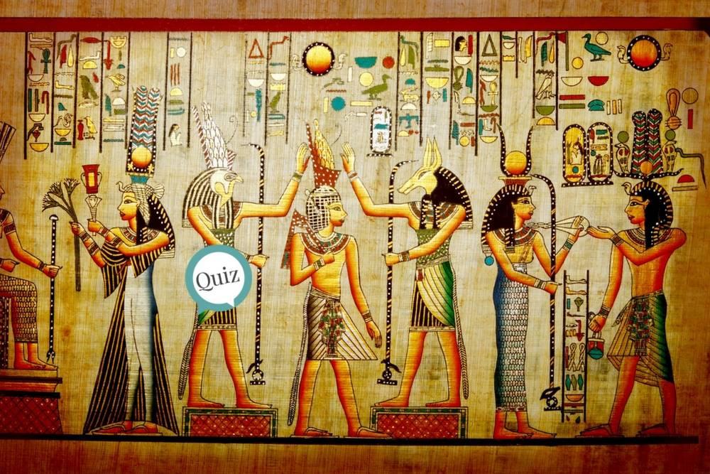 ¿Cuánto sabes de dioses egipcios?
