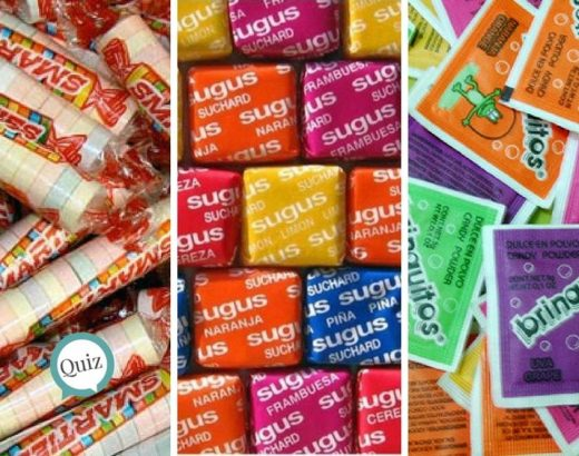 ¡Sólo si recuerdas estos dulces, sacarás 7/7!