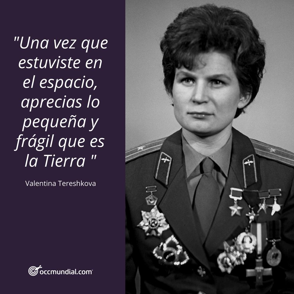 Resultado de imagen para Valentina Vladímirovna Tereshkova frases