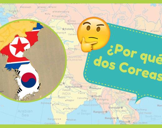 ¿Sabes por qué hay dos Coreas en el planeta?