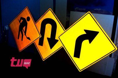 ¡El quiz de las señales de tránsito!